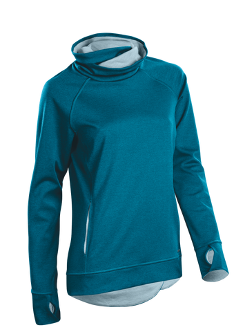 SUGOI Women's Coast Pullover, Ocean Depth (U625010F)