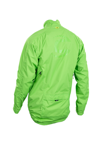 SUGOI Men's Zap Bike Jacket, Berzerker Green Alt (U719000M)