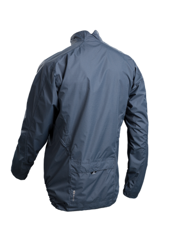 SUGOI Men's Zap Bike Jacket, Coal Blue Alt (U719000M)