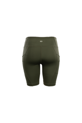 SUGOI Women's Prism Training Short, Deep Olive Alt (U308010F)