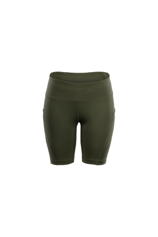 SUGOI Women's Prism Training Short, Deep Olive (U308010F)