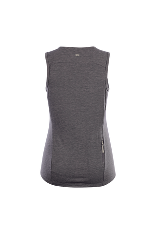 SUGOI Women's Off Grid Tank, Charcoal Heather Alt (U550070F)