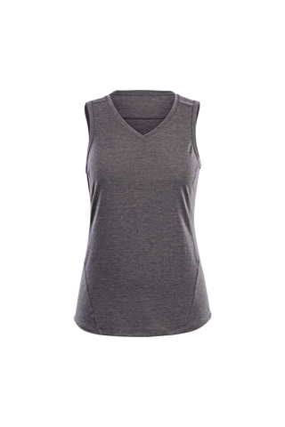 SUGOI Women's Off Grid Tank, Charcoal Heather (U550070F)