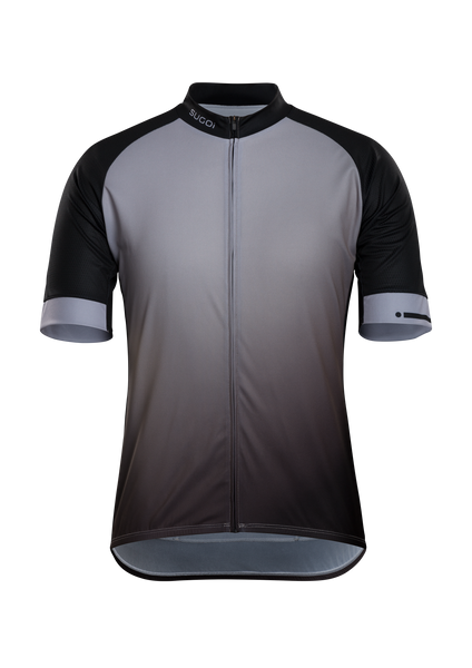 SUGOI Evolution Zap Jersey, Light Grey Gradient (U576010M)
