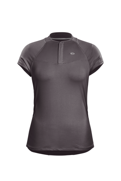 SUGOI Women's RPM Jersey, Dark Charcoal (U580010F)
