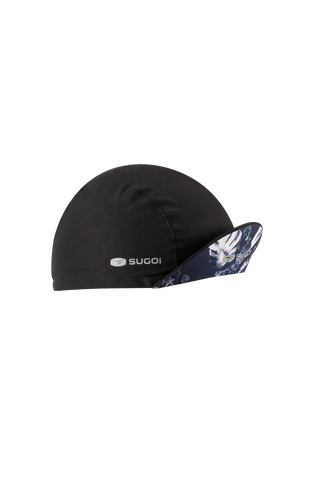 SUGOI Cycling Cap, Navy Monstera Alt (U930030U)