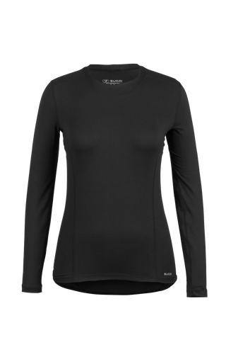 SUGOI Women's Thermal Base Layer L/S, Black (U182010F)