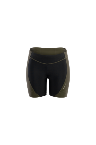 SUGOI Women's RPM Tri Shorts, Deep Olive (U213020F)