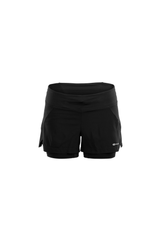 SUGOI Women's Prism 2-In-1 Shorts, Black (U301080F)