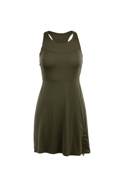 SUGOI Women's Coast Dress, Deep Olive (U319000F)