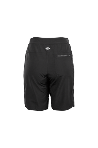 SUGOI Women's Trail Shorts - Lined, Black Alt (U350010F)