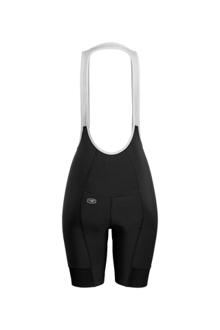 SUGOI Women's Evolution Bib Shorts, Black Alt (U392000F)