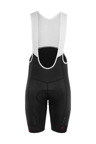 EVOLUTION PRT BIB SHORTS,Red Dark   (U392020M)