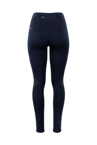 SUGOI Women's MidZero Zap Tights, Deep Navy Alt (U408010F)