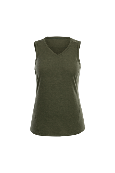 SUGOI Women's Off Grid Tank, Olive Heather (U550070F)