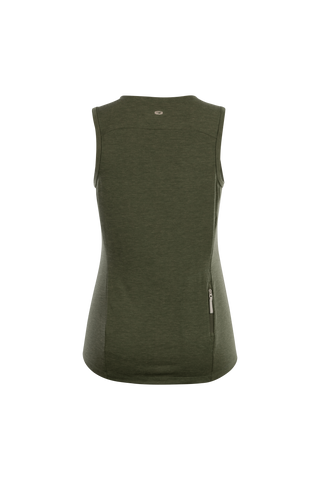 SUGOI Women's Off Grid Tank, Olive Heather Alt (U550070F)