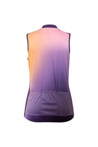 SUGOI Women's Evolution Zap SL Jersey, Sunset Alt (U566010F)