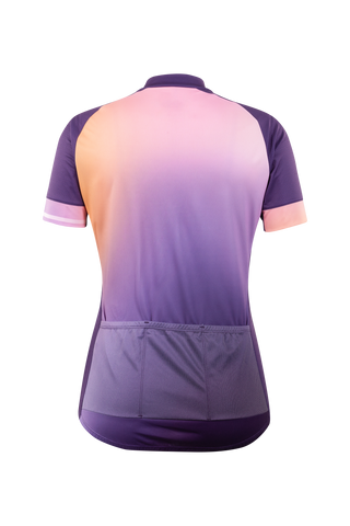 SUGOI Women's Evolution Zap Jersey, Sunset Alt (U576010F)