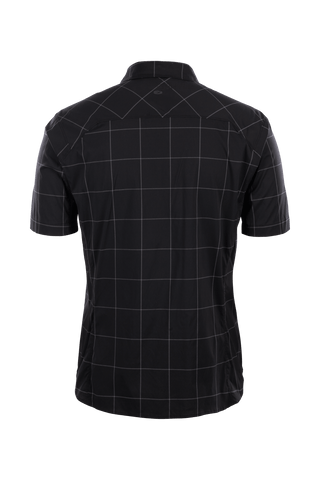 SUGOI  Off Grid Work Shirt, Black Grid Plaid Alt (U595010M)