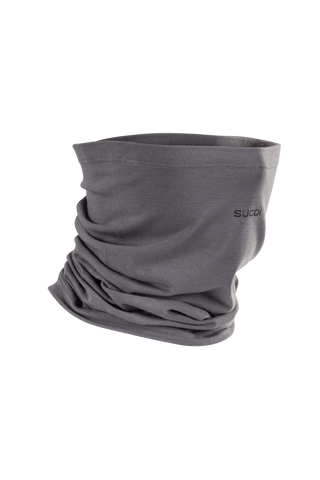 SUGOI Wool Neck Warmer, Dark Charcoal (U928010U)