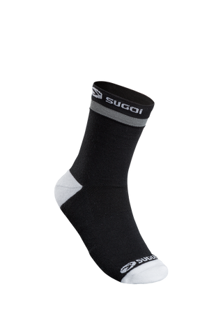 SUGOI Zap Winter Socks, Black / White (U947000U)