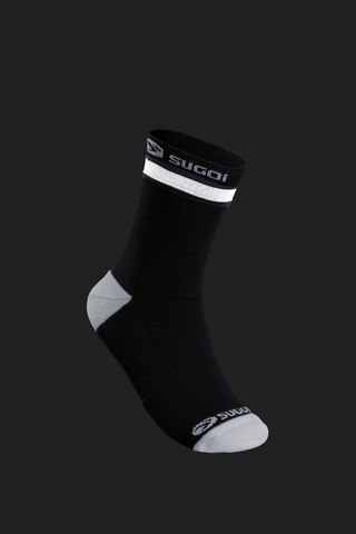 SUGOI Zap Winter Socks, Black / White Alt (U947000U)