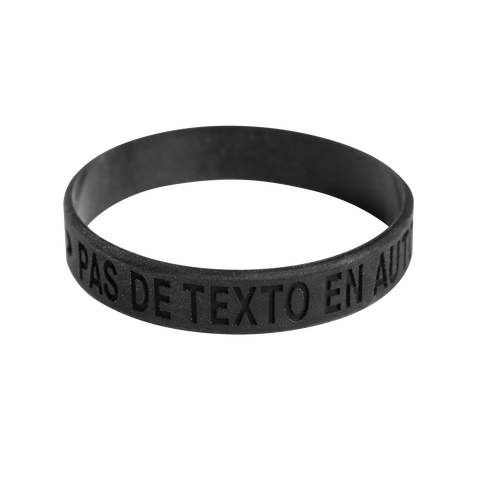 Don't Text and Drive Bracelet, Black Alt ( 1L99088)