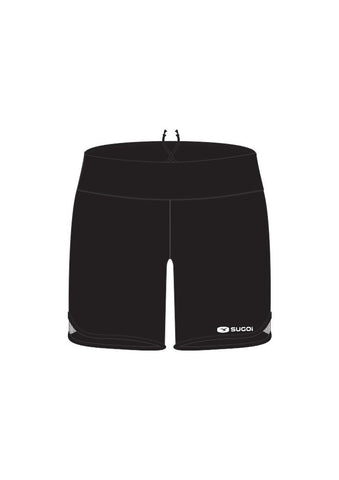 "SUGOI Women's Jackie N'Ice 6"" Short - Print, Black (30325F)"
