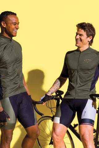 SUGOI Evolution Ice Jersey, Deep Olive Alt (U576020M)