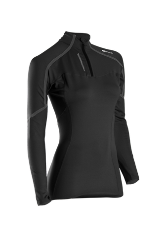 SUGOI Women's RSR Race Top, Black (62090F)