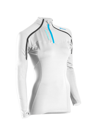 SUGOI Women's RSR Race Top, White (62090F)
