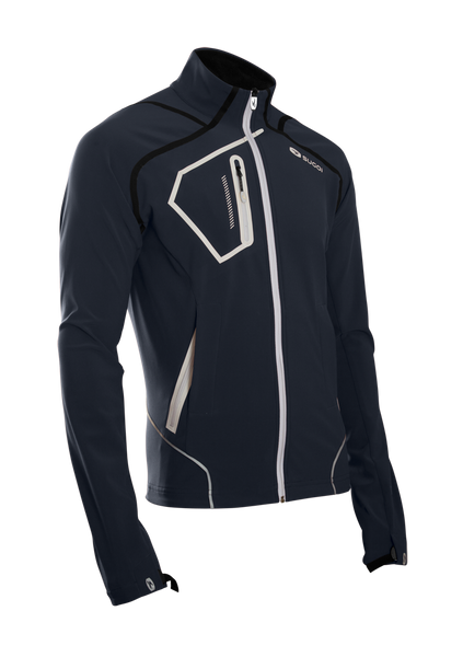 SUGOI Men's RSR Power Shield Jacket, Gunmetal (72771U)