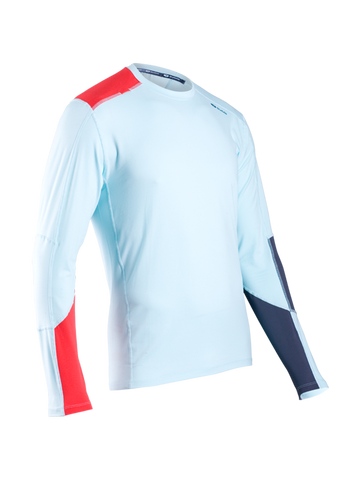 SUGOI Men's Titan Core Long Sleeve (L/S), Ice Blue (60015U)