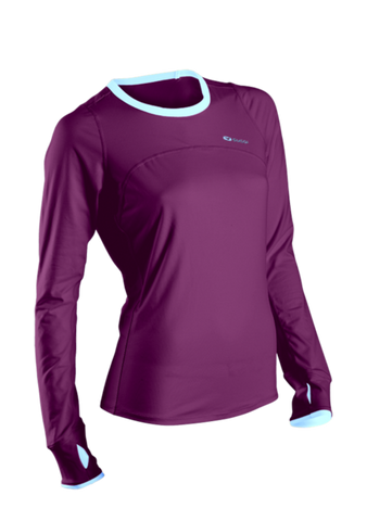 SUGOI Women's Fusion Core L/S, Boysenberry (60016F)