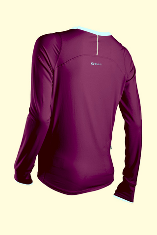 SUGOI Women's Fusion Core L/S, Boysenberry Alt (60016F)