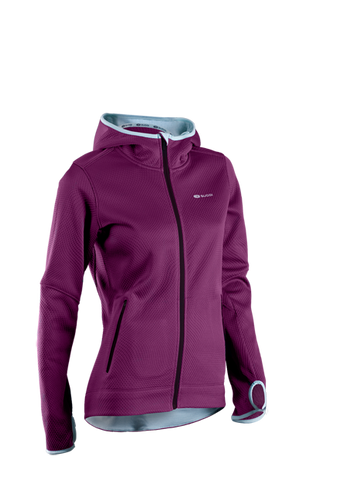SUGOI Women's Ignite Hoodie, Boysenberry (64921F)
