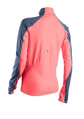 SUGOI Women's Firewall 180 Zip, Electric Salmon Alt (69052F)