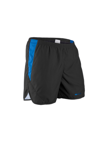 "SUGOI Men's Titan Ice 5"" Short, Black/True Blue (30344U)"
