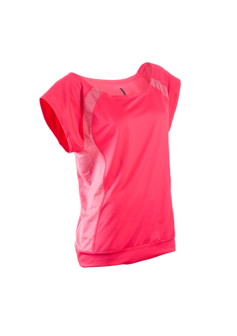 SUGOI Women's Verve S/S, Bright Rose (50221F)