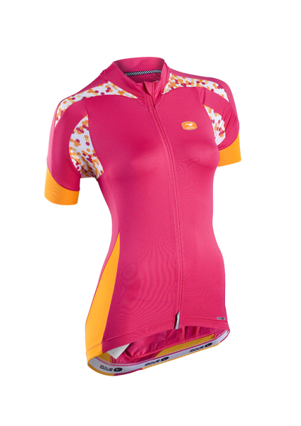 SUGOI Women's RS Pro Jersey, Bright Rose (57314F)