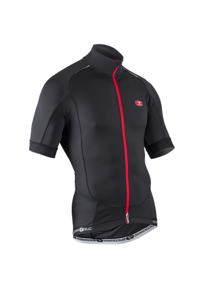 SUGOI Men's RS Thermal Jersey, Black (57410U)