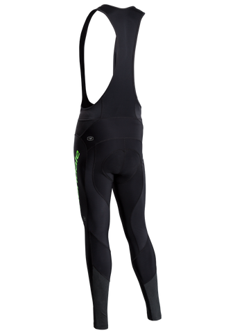 SUGOI Men's Evolution MidZero Bib Tight, Berzerker Green/Black Alt (U492000M)