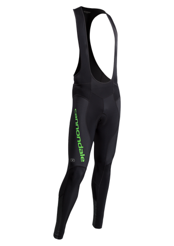SUGOI Men's Evolution MidZero Bib Tight, Berzerker Green/Black (U492000M)