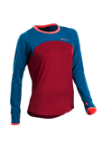 SUGOI Women's Fusion Core Long Sleeve, Varsity Red (U602000F)