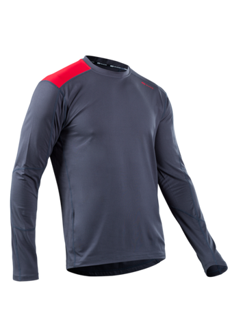 SUGOI Men's Titan Core Long Sleeve (L/S), Coal Blue (U602000M)