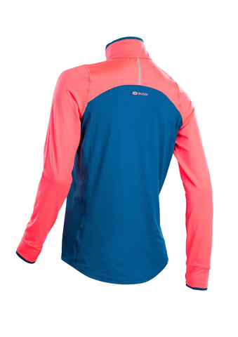 SUGOI Women's Fusion Core Zip, Baltic Blue Alt (U607000F)