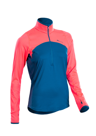 SUGOI Women's Fusion Core Zip, Baltic Blue (U607000F)