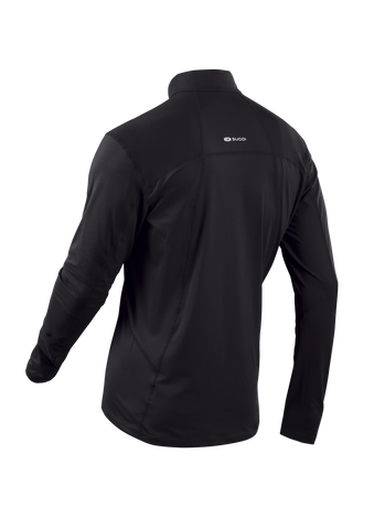 SUGOI Men's Titan Core Zip, Black Alt (U607000M)