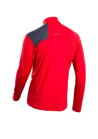 SUGOI Men's Titan Core Zip, Chili Red Alt (U607000M)
