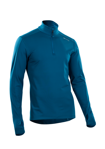SUGOI Men's MidZero Zip, Baltic Blue (U645000M)
